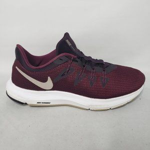 Nike Womens Quest Burgundy Running Shoes